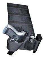 Explorer Tactical Under Mattress Bed Handgun Holster With Tactical Flashlight Lo