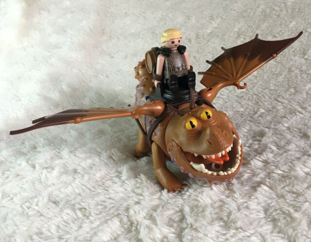 Playmobil How to Train Your Dragon Fishlegs and Meatlug DreamWorks Figure