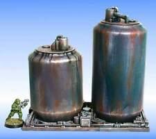 Armorcast 28mm Resin Terrain ACSC004 24 oz Can Storage Tanks 3pcs New Unpainted