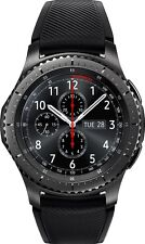 Samsung - Gear S3 Frontier Smartwatch 46mm Dark Grey SM-R760NDAAXAR *WATCH ONLY*