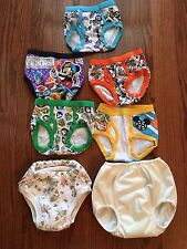Boys Toddler Mickey Mouse Underwear Briefs 2T-3T Training Pants Bummis Lot