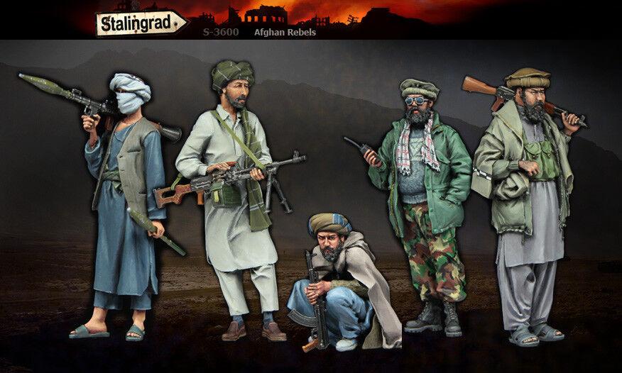 Stalingrad 1 35 Afghan Rebels (Big Set - 5 Figures)