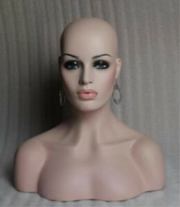 Unique-Female-Fiberglass-Mannequin-Head-Bust-For-Wig-Jewelry-Hat-Display-18