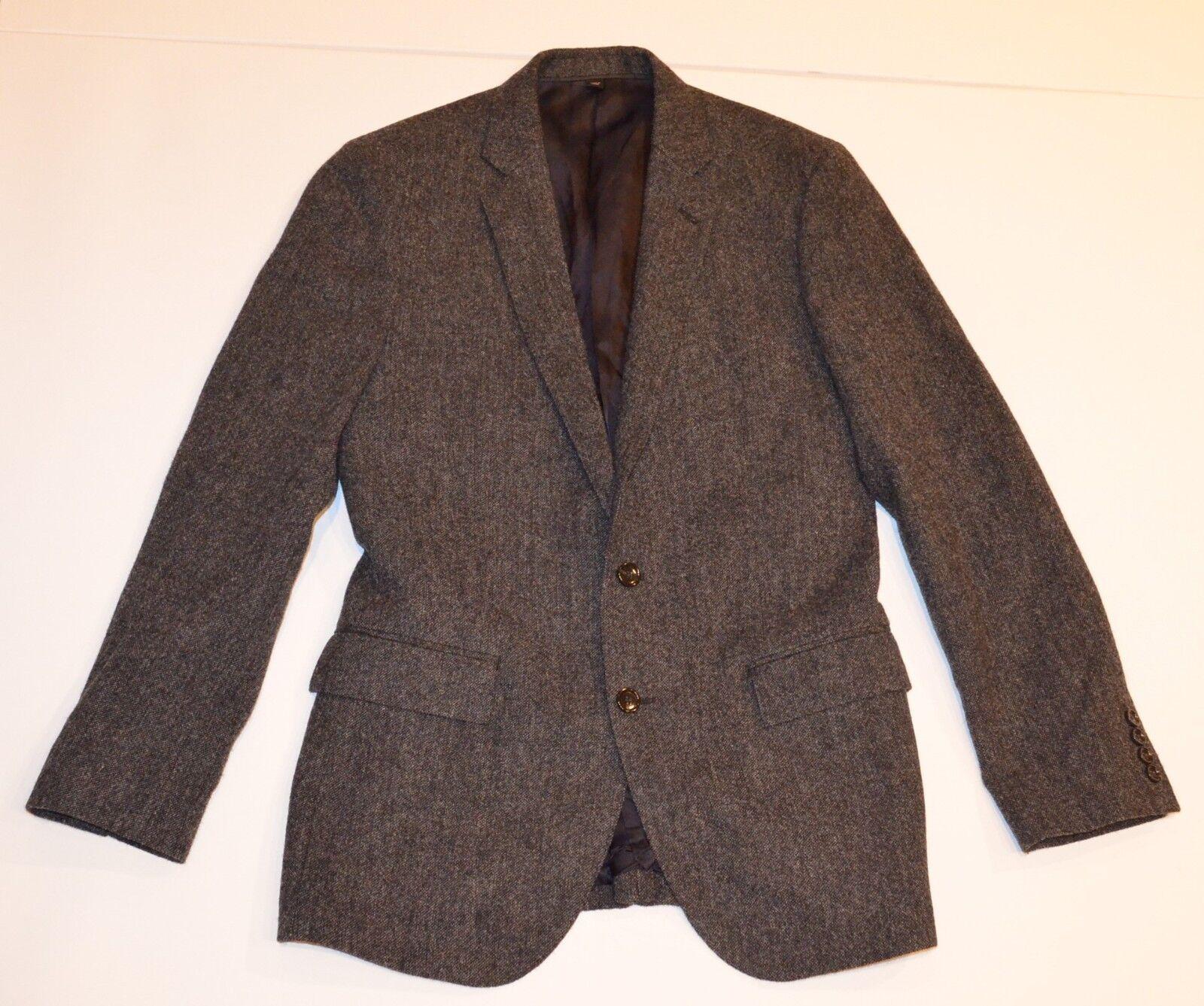 NWOT J.Crew Ludlow Wool Sport Coat Blazer Sz 36 36R Moon Jersey Fabric Slim grau