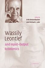 Wassily Leontief and Input-Output Economics (2008, Paperback)