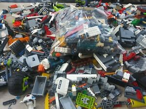 2 pounds of Lego Bulk Lbs Mixed PARTS /& PIECES STAR WARS CITY 100/% #06