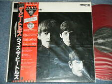 BEATLES Japan EAS-70131 Red Vinyl MONO UNPLAYED MINT LP+Red Obi WITH THEBEATLES