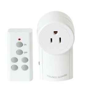 Wireless-Remote-Control-Outlet-Electrical-Power-Light-Plug-Switch-Socket-New
