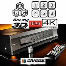 OPPO DIGITAL BDP-105D DARBEE EDITION MULTI REGION CODE FREE BLU-RAY PLAYER USED
