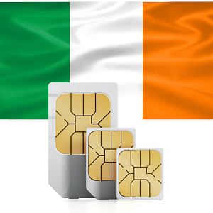 NEW GOLDEN Phone Number Ireland Sim Card Irish Easy to ...