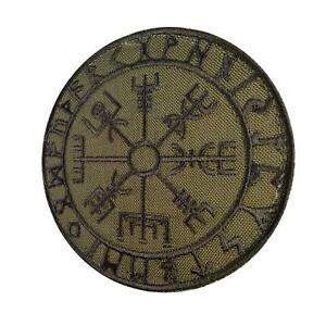 vegvisir-viking-compass-olive-drab-green-morale-toppa-patch-VELCRO-brand