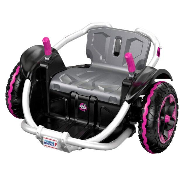 Power Wheels Wild Thing 12V Kids Ride-On Vehicle, Pink