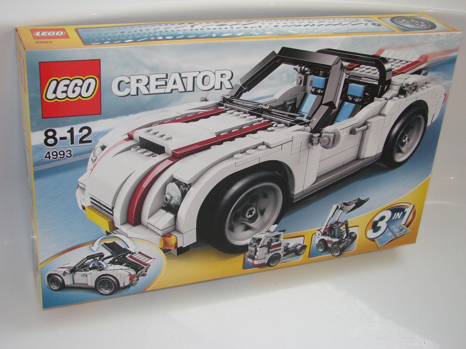 LEGO® Creator 4993 Cabriolet NEU OVP_ Cool ConGrünible NEW MISB NRFB