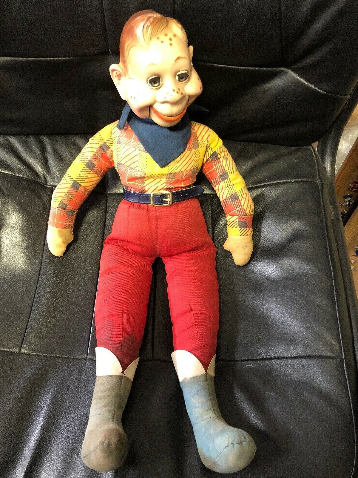 Vintage Ideal Howdy Doody Puppet