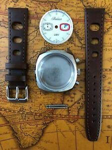 Retro TRADITION Uhrenkit chronograph fürETA Valjoux 7733 SWISS MADE Uhrengehäuse