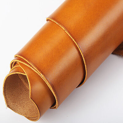 12x12inch Veg Tan Cowhide Top Leather for Wallet Belt Holster Sheath Journal