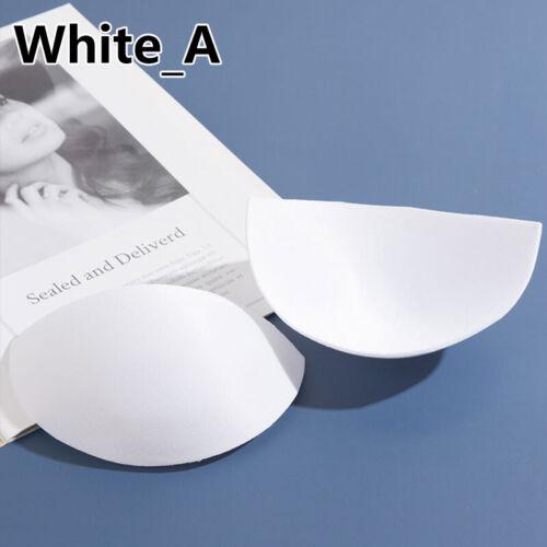 Bra Pad Triangle Pair Padded Insert Removable Soft Cup Foam Bikini Push Up Pad