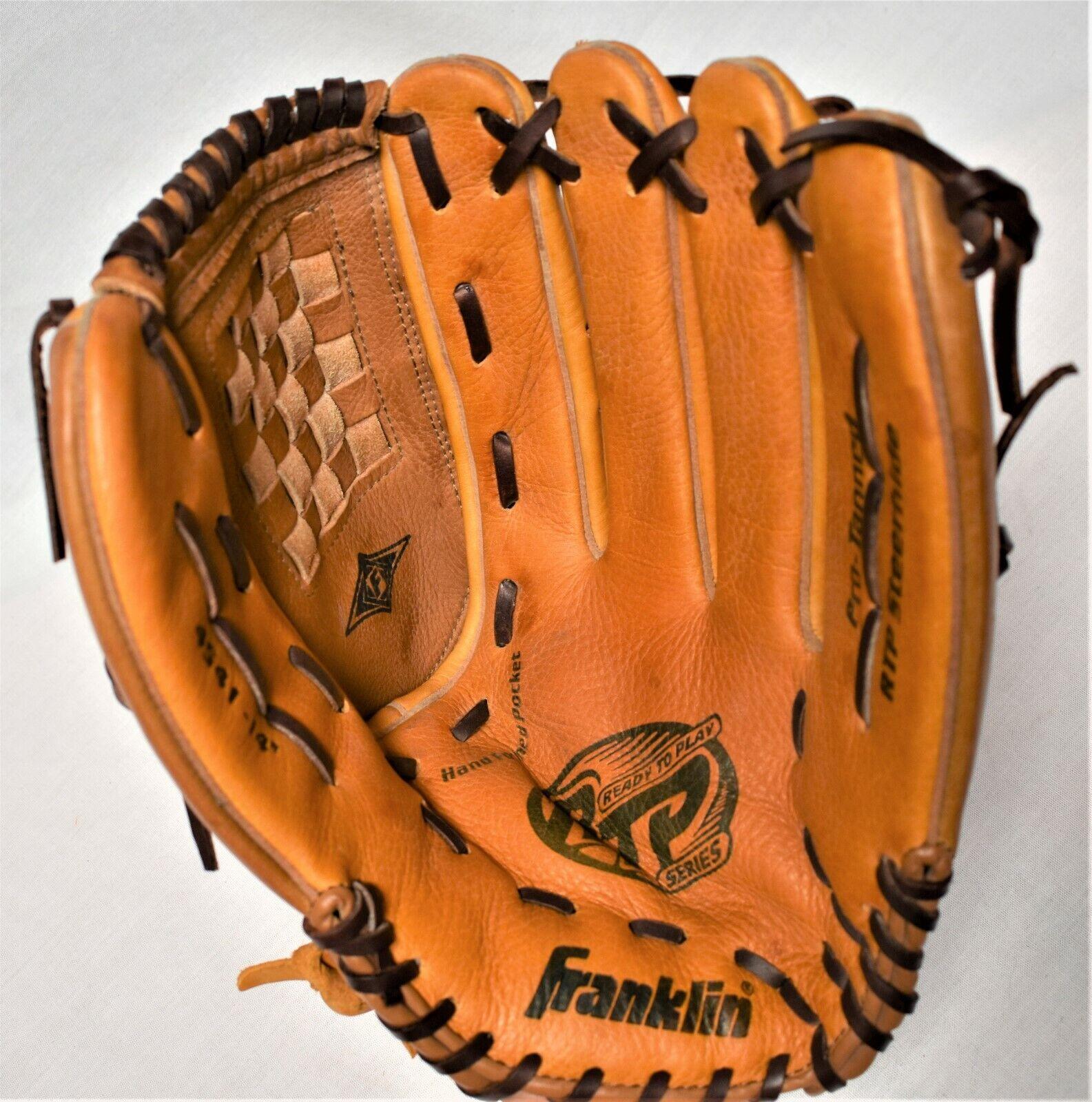 Franklin Softbol RTP Series 4541 - 14  steerhide Guante de béisbol Mano Derecha lanzador Excelente