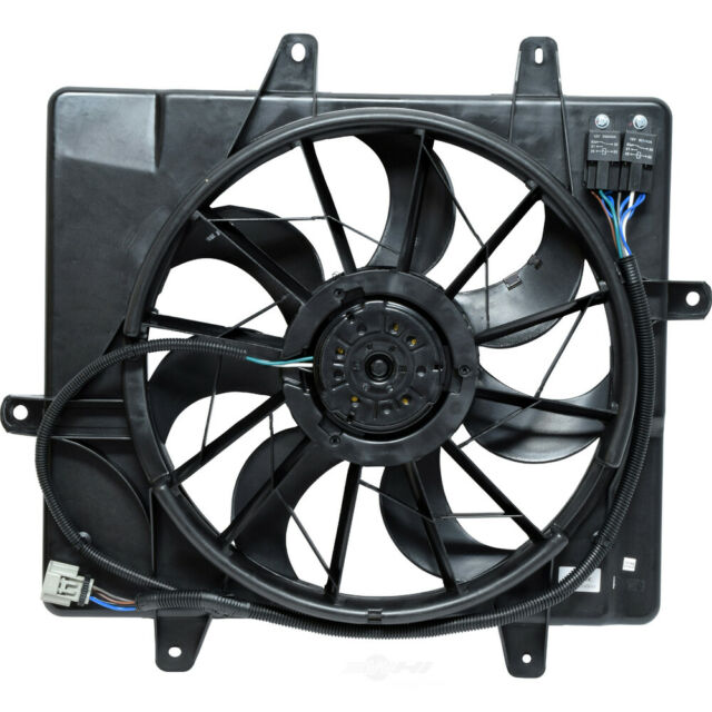 Dual Radiator and Condenser Fan Assembly-Natural fits 2006 Chrysler PT Cruiser