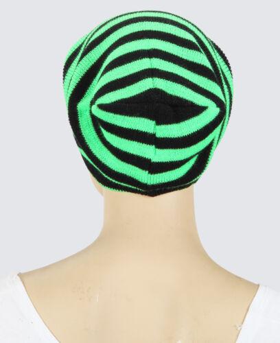 Mütze Beanie neon für Herbst Winter