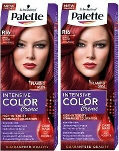 Schwarzkopf Palette Color Creme R16 FLAMING RED Hair Dye ...