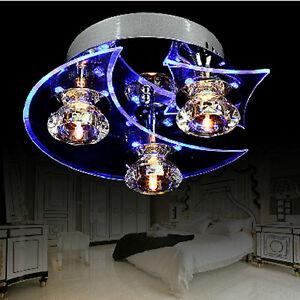 Lustre-en-cristal-moderne-LED-encastre-Salon-3-lumieres-ampoule-incluse-Bleu-EU