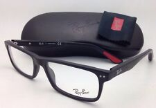 New RAY-BAN Eyeglasses RB 5277 2077 54-17 140 Sandblasted Black Frames