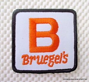 BRUEGELS-EMBROIDERED-SEW-ON-PATCH-UNIFORM-HAT-SHIRT-ADVERTISING-3-034-x-3-034