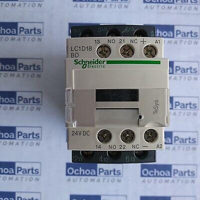 24VDC Coil 3-Pole 12A Telemecanique Contactor LC1D12BD Motor Control 440VAC
