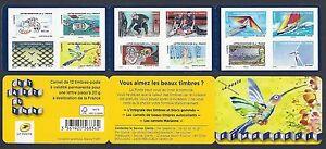 FRANCE-2013-Carnet-Adhesif-BC-889-FETE-DU-TIMBRE-L-039-AIR-NEUF-NON-plie-LUXE