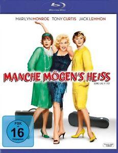 Manche-moegen-039-s-heiss-Blu-ray-NEU-OVP-Marilyn-Monroe-Jack-Lemmon-Tony-Curtis