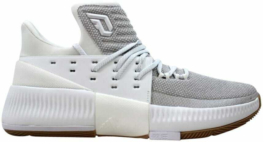 Adidas D Lillard 3 Chaussures Blanc Gomme 4 BW0323 Homme Taille 13.5