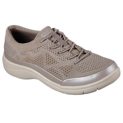 NEW SKECHERS Women Sneakers Trainers Memory Foam LITE STEP- REACTIVE Taupe