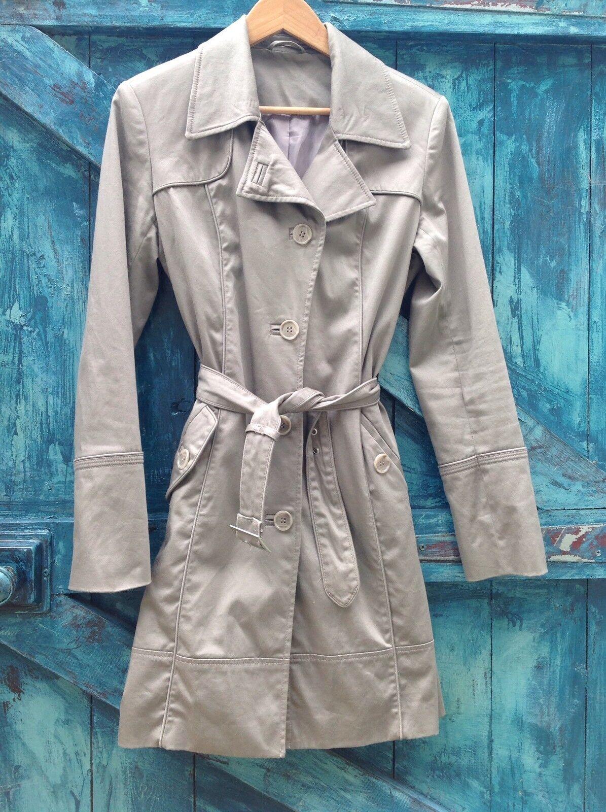 Womens Trench Coat NEXT Sexy raincoat Flasher Mac Vgc