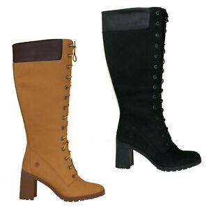 Details zu Timberland Allington 14 Inch Boots Kniehoch Reißverschluss Damen Stiefel