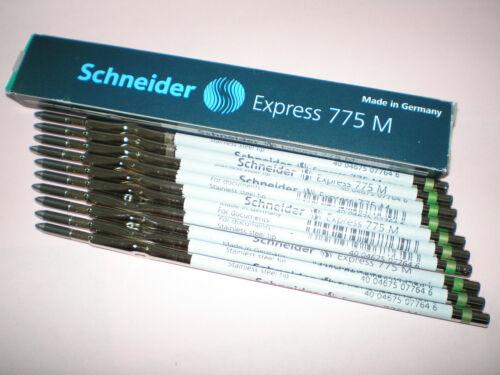 = 10 Stk Schneider Express 775 M grün Kugelschreibermine 7764 Kulimine 1 Pck