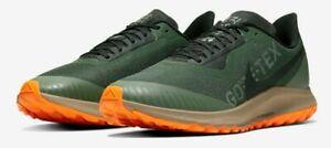 Nike Air Zoom Pegasus 36 Trail Gore-Tex galáctica Jade Negro ...