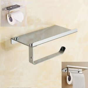 Image Is Loading Toilet Paper Holder Wall Mount Stainless Steel Tissue