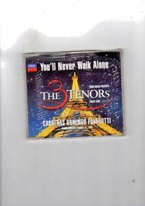 CARRERAS DOMINGO PAVAROTTI - THE 3 TENORS - YOU'LL NEVER WALK ALONE - CDS NUOVO - Italia - CARRERAS DOMINGO PAVAROTTI - THE 3 TENORS - YOU'LL NEVER WALK ALONE - CDS NUOVO - Italia