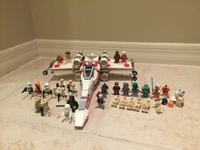 LEGO Star Wars X-Wing Fighter 6212 30+ Minifigures Boba Fett Hoth Rebel Troopers