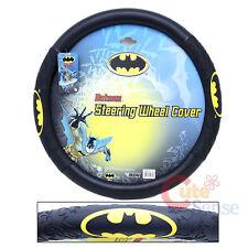 DC Comics Batman Car Steering Wheel Cover Auto Accessory Color Logo