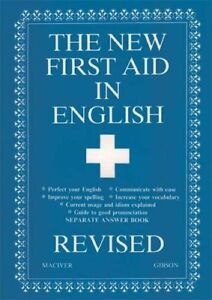 New First Aid in English Revised by Maciver, Angus Paperback Book The Fast Free