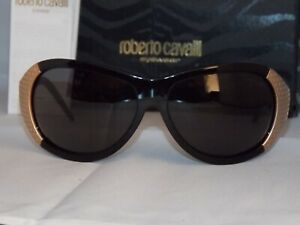 casual shoes best website 2018 shoes Details about NEW~Roberto Cavalli Sunglasses-ANTIGONE 311 col.B5 - Black  Gold -Made in Italy