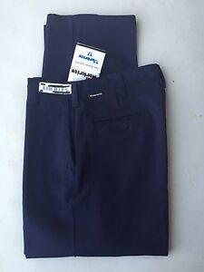 Workrite Indura FR Navy Blue Work Pants Size 36x28 HRC2 10.8 ATPV