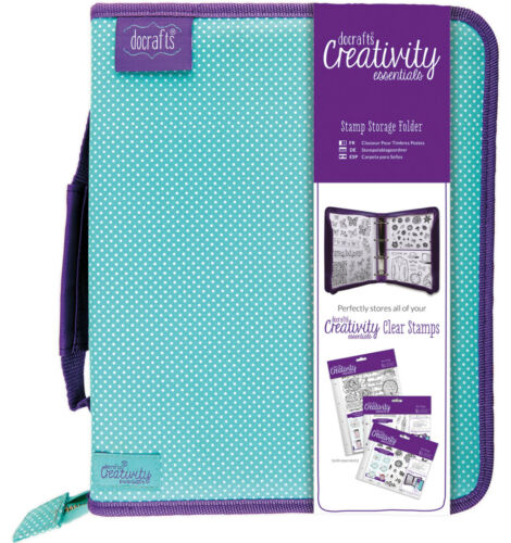 Docrafts Creativity Essentials Storage Folder WITHOUT sleeves for clear stamps