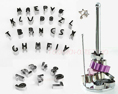 Cake Number & Alphabet Letter Decorating Cookie Sugarcraft Fondant Tools Cutter