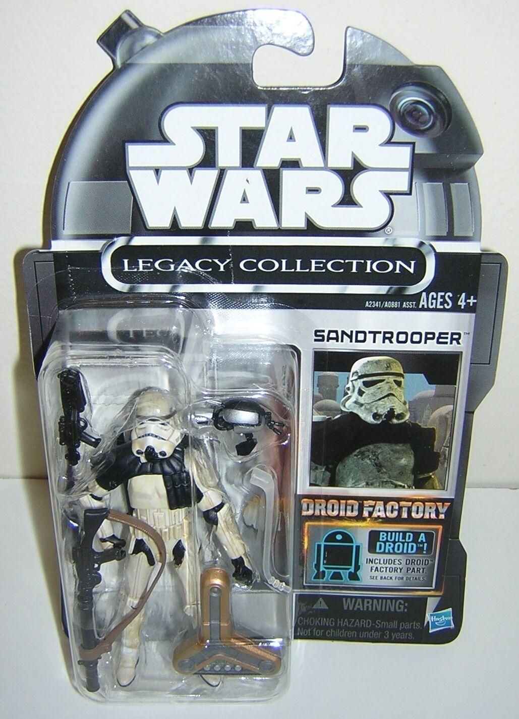 Star wars legacy collection - fabrik sandtrooper abgesagt super selten