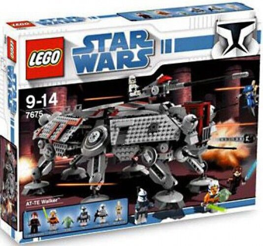 LEGO Star Wars The Clone Wars AT-TE Walker Set  7675