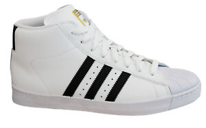 Détails sur Adidas Originals Pro Model Vulc Advance pour Homme Baskets Montantes Blanc BY4095 M17 afficher le titre d'origine