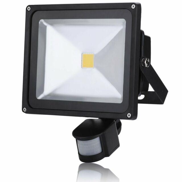 Pir 30w Motion Sensor Led Flood Light Lamp Warm White Outdoor Security Lights